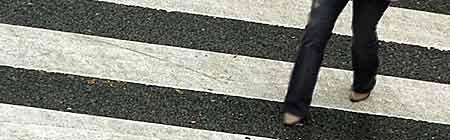 Senda peatonal o Paso cebra