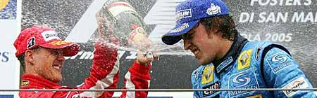 Schumi y Alonso