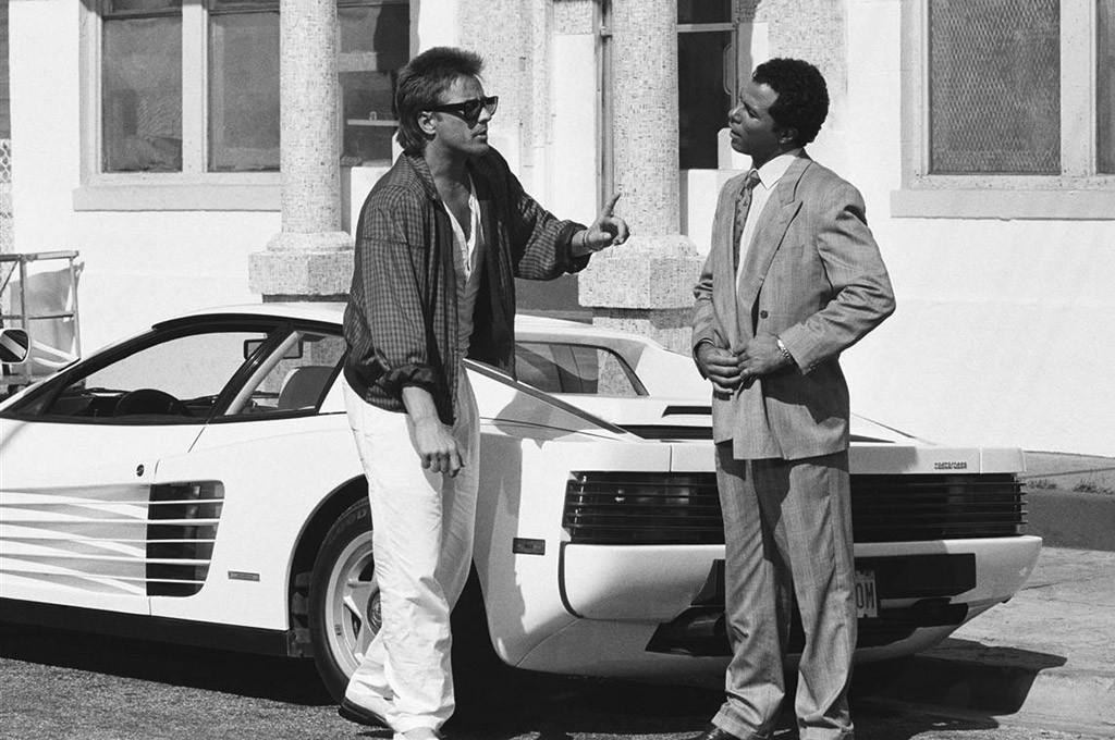 La Ferrari Testarossa de Miami Vice