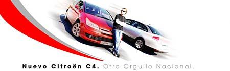 Citroën C4 y Diego Torres
