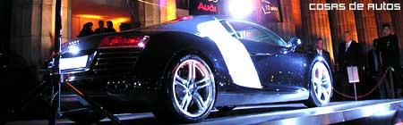 Avant premier del Audi R8