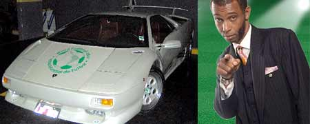 Lamborghini Diablo encontrado por la Policía Federal y Max Higgins