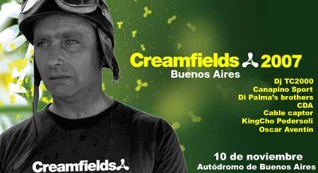 Creamfields en el autódromo - Fotomontaje: Cosas de Autos Blog