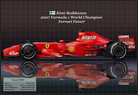 Ferrari Campeón 2007 - por Jorge García
