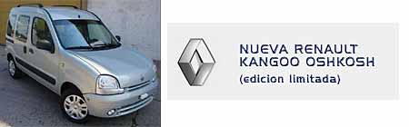 Renault Kangoo OshKosh