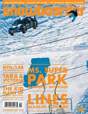 Snowboarder - Diciembre 2007