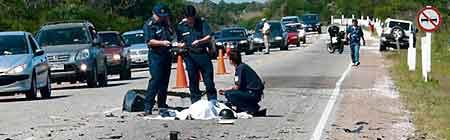 Accidente trágico en Punta del Este - Foto: Diario El País