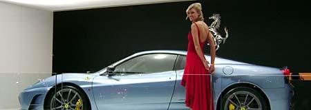 Salón de Detroit: stand de Ferrari - Foto: Sergio Cutuli
