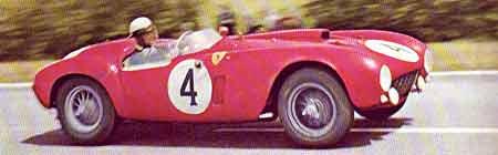 Ferrari 375 Plus en Le Mans 1954