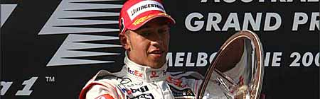 Fórmula 1 - Australia 2008