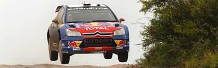 Sébastien Loeb en Córdoba - Foto: Prensa Rally de Argentina