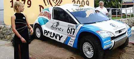 Presentación del Monti 09 de Dakar