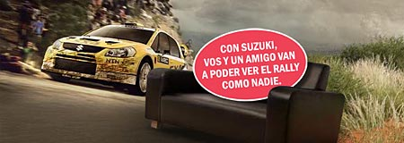 Suzuki y el WRC