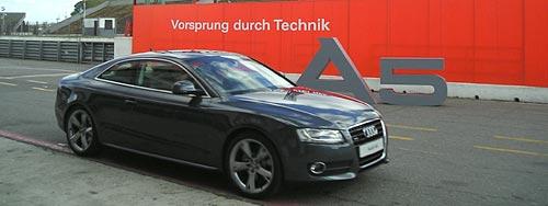Audi A5 en el autódromo