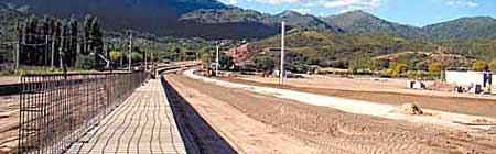 Circuito semipermanente de Potrero de los Funes - Foto: Olé