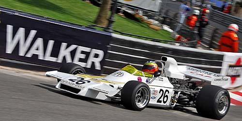 Brabham-Cosworth BT-37 de Carlos Reutemann en el Gran Premio Histórico de Mónaco 2008 - Foto: Supercars.net