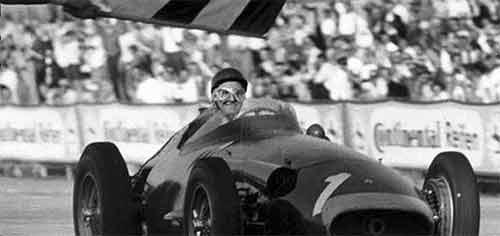 Fangio gana el Gran Premio de Nürburgring de 1957.