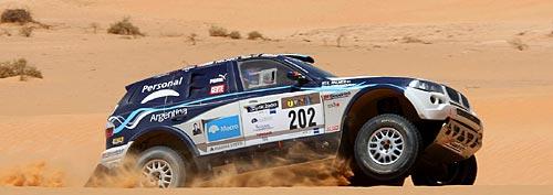 Argentina X-Raid Personal Team en el Rally de Túnez