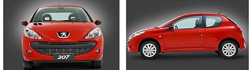 Nuevo Peugeot 207 para el Mercosur