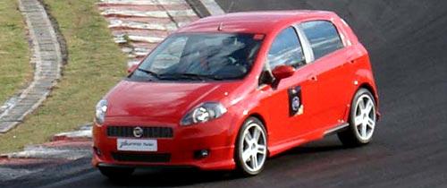 Fiat Punto Turbo en San Pablo - Foto: Bestcars.com.br