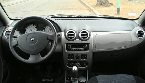 Interior del Renault Sandero Luxe - Foto: Cosas de Autos Blog