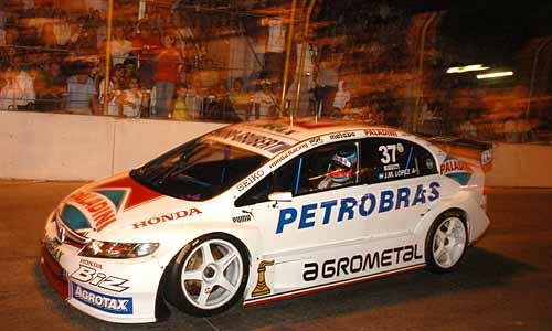Pechito López autor de la pole en Santa Fe y ganador de la carrera.