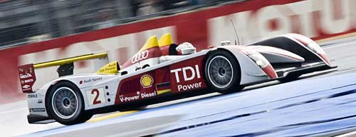 Audi ganó las 24 Horas de Le Mans 2008