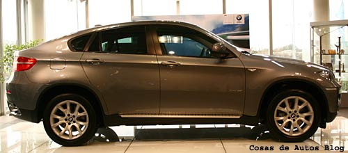 BMW X6 en Argentina - Foto: Cosas de Autos Blog.