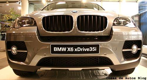 BMW X6 en la Argentina - Foto: Cosas de Autos Blog.