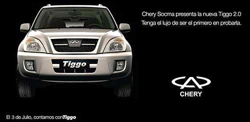 Presentación CherySocma en Argentina