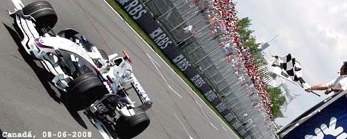Kubica gana el GP de Canadá 2008 (AP).