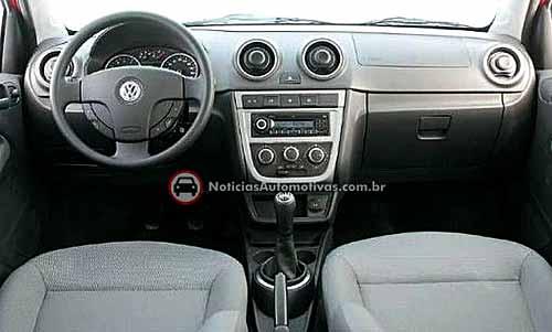 Interior del nuevo VW Gol - Foto: Noticias Automotivas