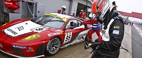 Russo y Pérez Companc en Silverstone - Foto: FIA GT