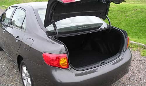 Toyota Corolla baúl - Foto: Cosas de Autos