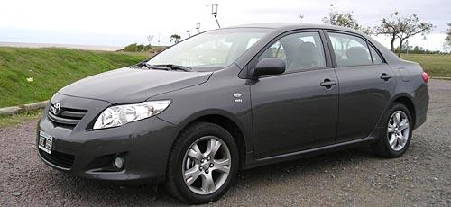 Toyota Corolla lateral