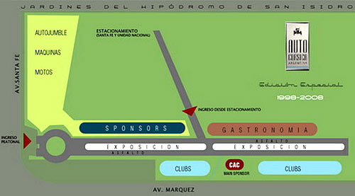 Plano de Autoclásica 2008