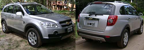 Chevrolet Captiva - Fotos: Cosas de Autos