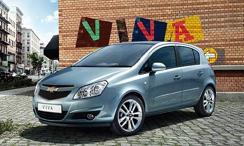 Supuesto Proyecto Viva de Chevrolet