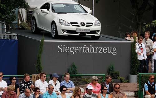 Mercedes-Benz SLK 350 - Foto: Prensa Mercedes Cup