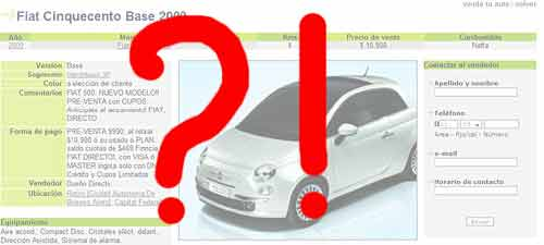 Fiat 500 preventa