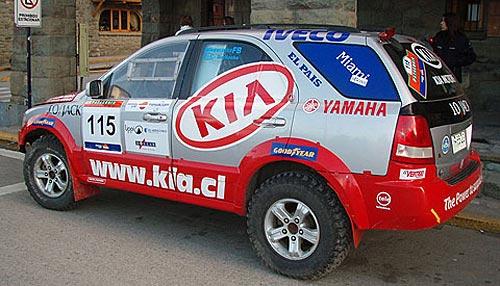 Kia Sorento en el Por las Pampas – Patagonia Atacama 2007