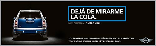 Preventa del MINI Clubman en Argentina