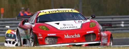 Matías Russo girando en Oscherleben - Foto: Prensa FIA GT