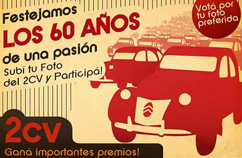 Citroën celebra los 60 años del 2CV con un concurso fotográfico