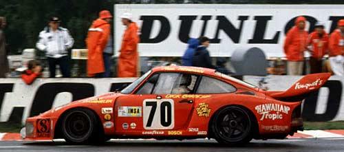 Paul Newman fue segundo en Las 24 Horas de Le Mans de 1979 con un Porsche 935