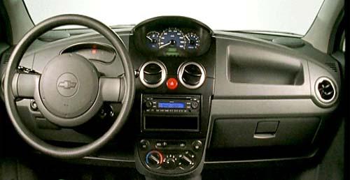 Interior del Chevrolet Spark