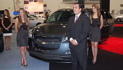 Chevrolet Traverse en el SIAM 2008