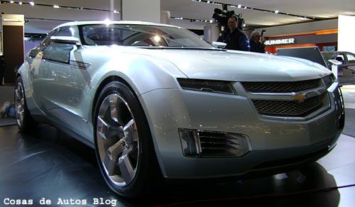 Chevrolet Volt en el Salón de Detroit - Foto: Cosas de Autos Blog