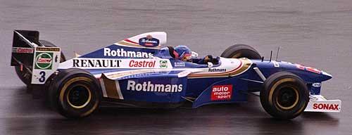 Jacques Villeneuve en 1997