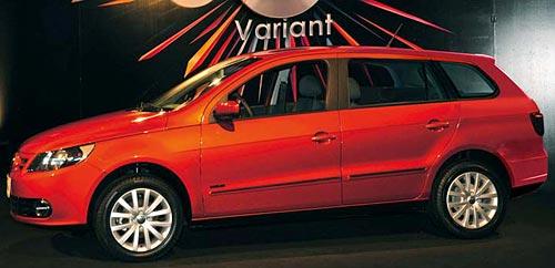 Recreación del Nuevo Volkswagen Gol Variant . Por: Christiaan de Yellow Cab